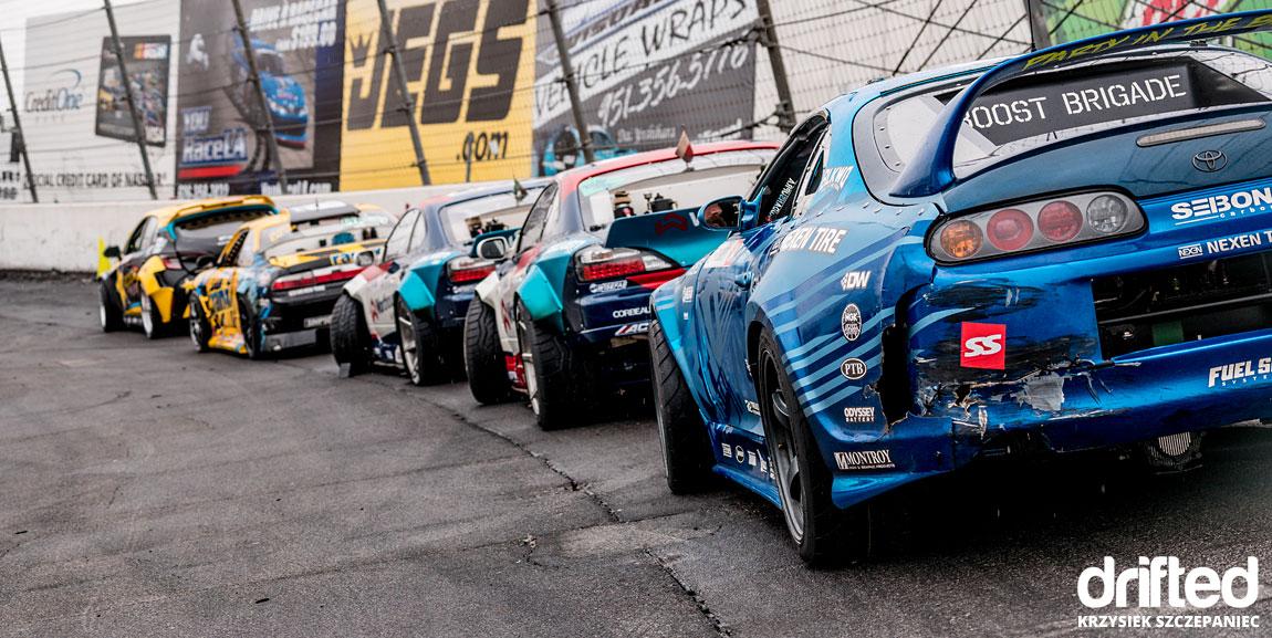 formula drift car lineup