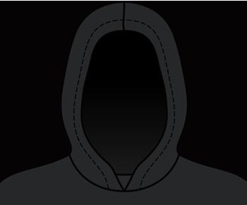 Supra hoodie hood detail