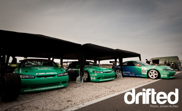 Falken Drift Team green s14 s15