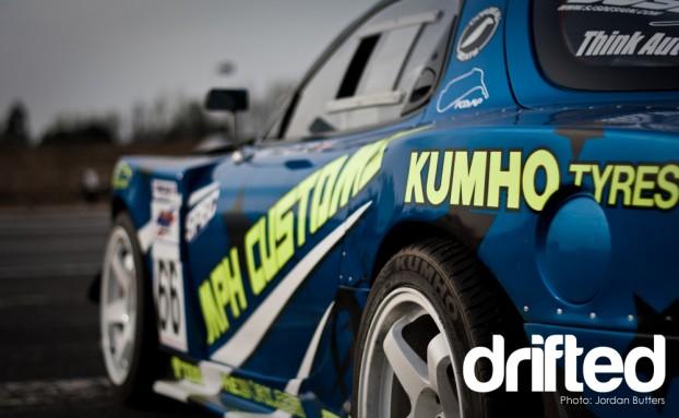 LS1 RX7 V8 Drift