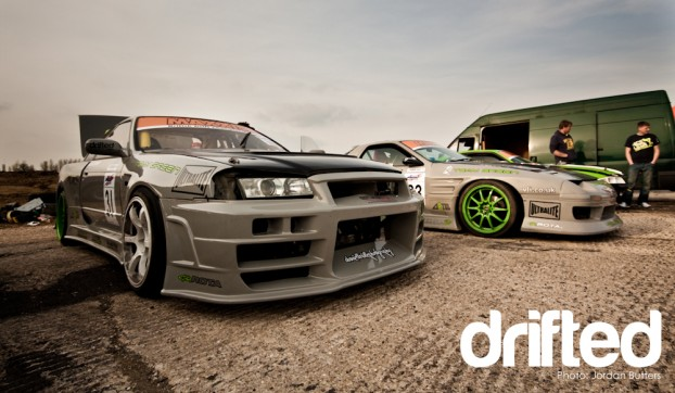 Bee R R32 R34 Team Green Drift