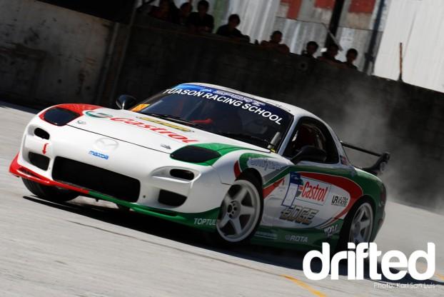 Mazda RX7 - 2010 Lateral Drift Pro-Am Championship Round 1