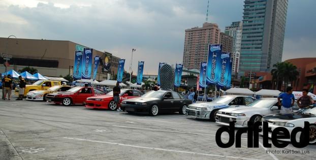 drift cars in Lateral Drift Championship