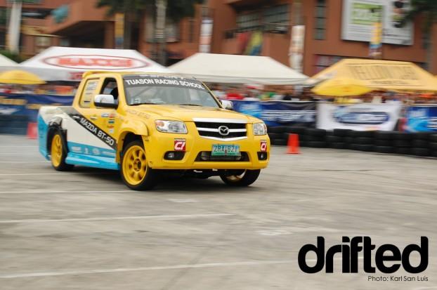 Mazda BT50 2009 Lateral Drift Championship Round 4