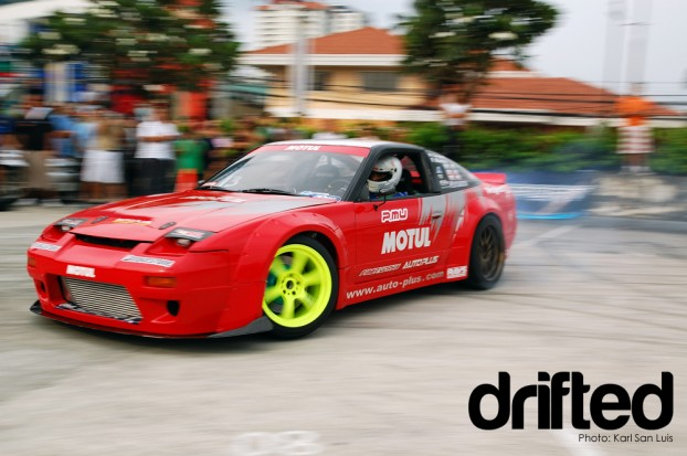 Nissan S13 Silvia Pacho Blanco 2009 Lateral Drift Championship Round 4