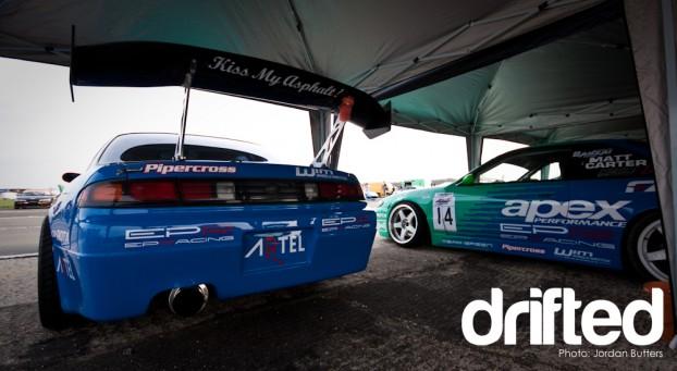 Team Falken Drift Team green