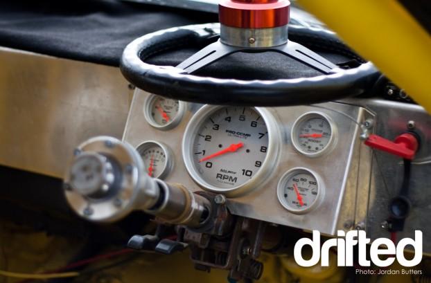 Race car alloy dashboard R32 Drift