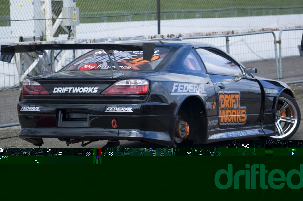 Driftworks S15 Tyre Change
