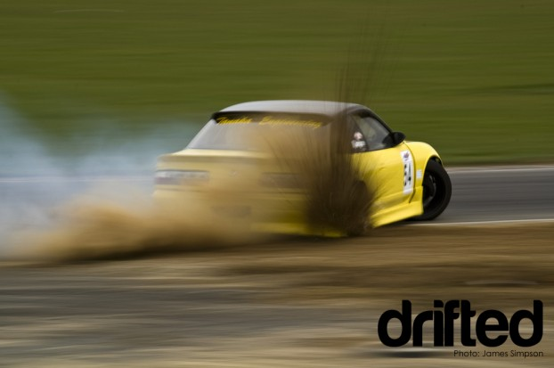 Greg Gush Nissan Onevia dirt dropping