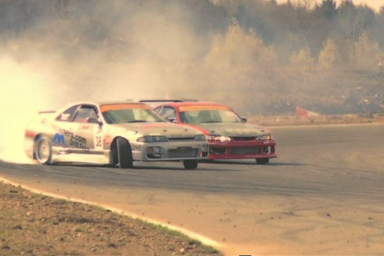 Maxxis Tyres British Drift Championship Round 1 Film