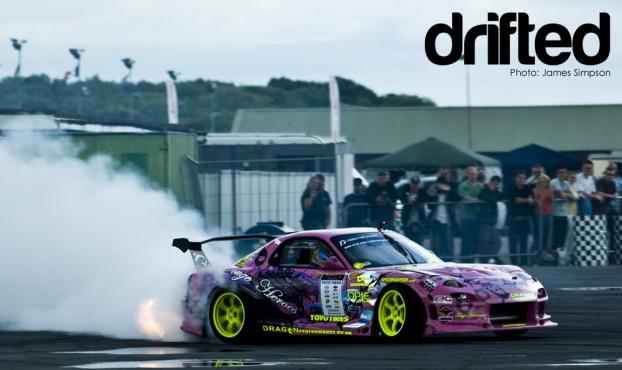 Dragon Performance FD3S RX7 at EDC Rd 5 2009