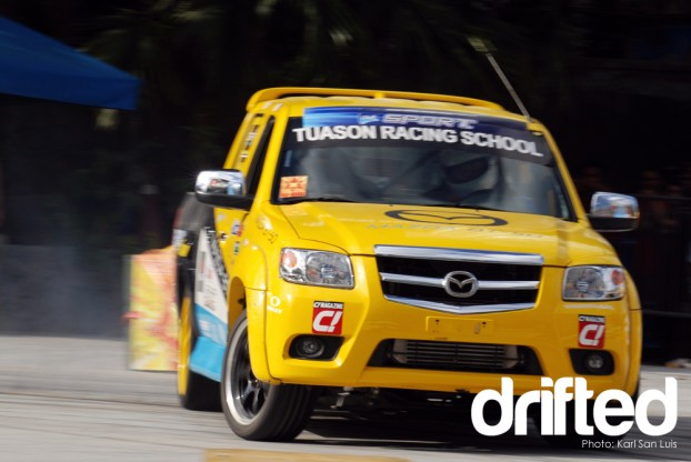 Tuason Racing School Mazda BT50 diesel