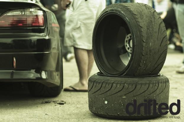 Phil Morrison 200sx Tyre