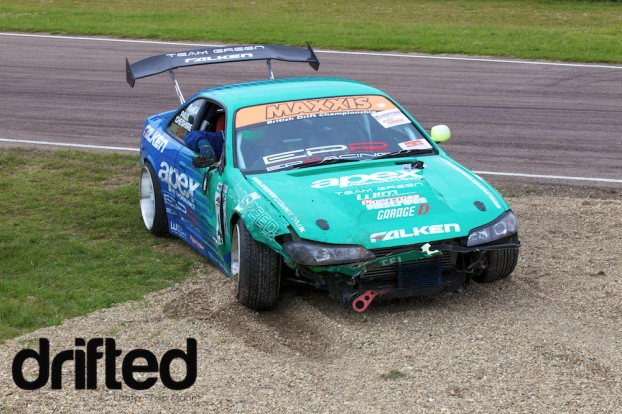 Paul's Crash at Lydden