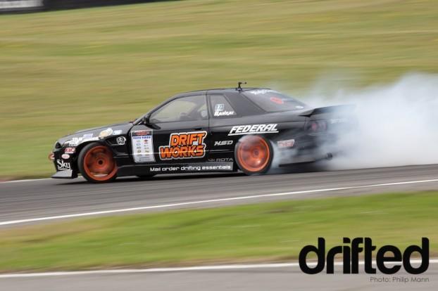 Driftworks R32 at Brands Hatch