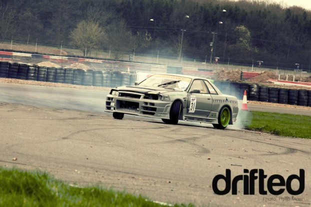 Nissan R324 at Silverstone