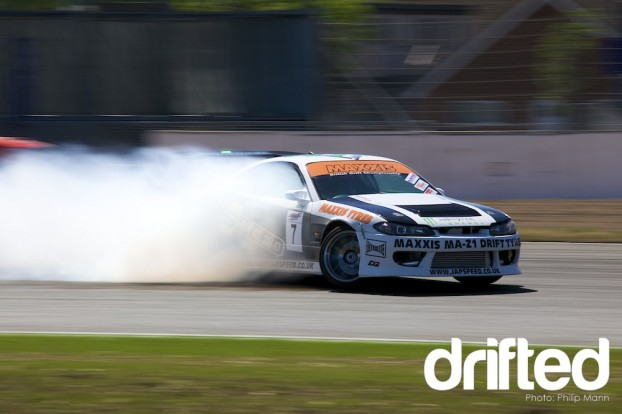 Nissan S15 at Silverstone
