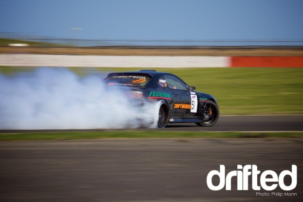 Driftworks S15 at Silverstone