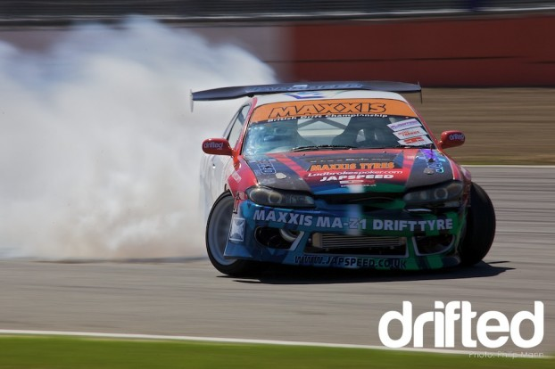 Japspeed S15 at Silverstone