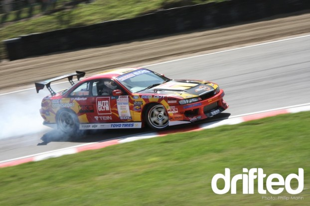Nissan S14a at Brands Hatch