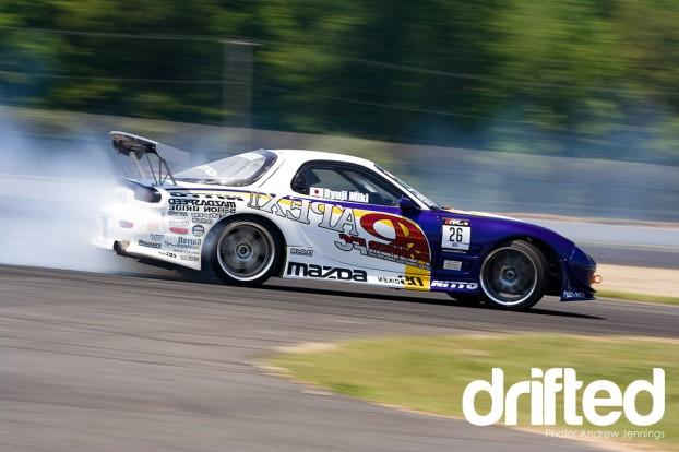 Ryuji Miki's APEX'i Mazda RX-7