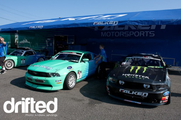 Falken Tires Mustangs