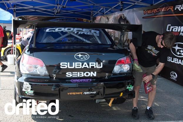 Stephan Verdier's Subaru Sti