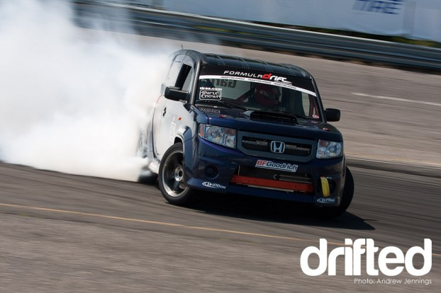 James Robinson Honda Element drift