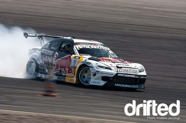 Mike Whiddet's Mazda RX-8 drift