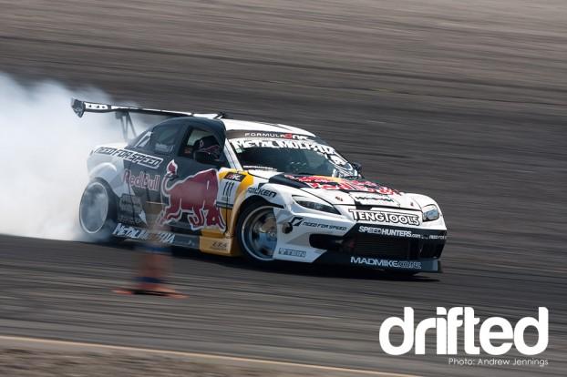 Mike Whiddet's Mazda RX-8 drift