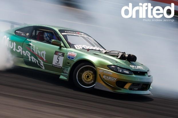 Michihiro Takatori's S15 drifting