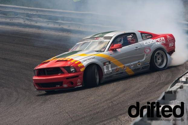 Tony Brakohiapa Team X Mustang