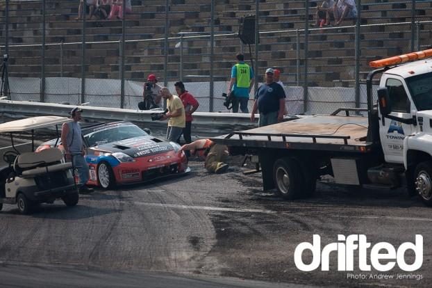 Chris Forsberg's Crash at Wall