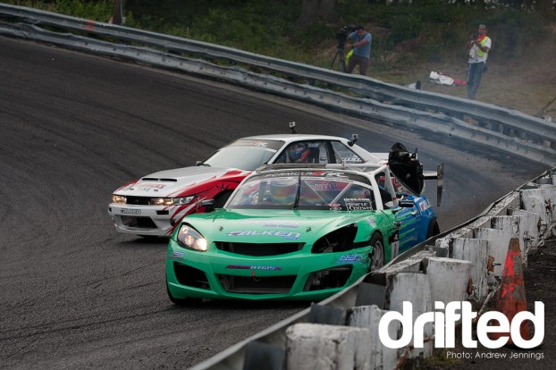 McNamara Crashes at Formula Drift