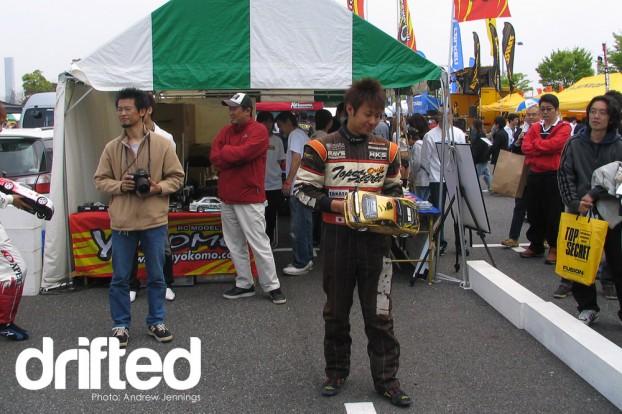 Ryuji Miki at D1GP