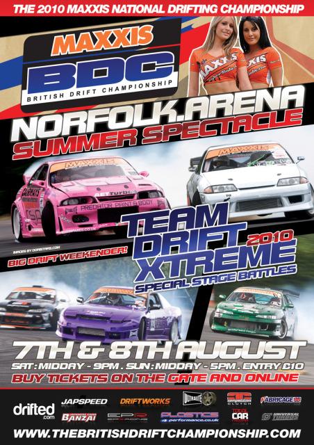 Tandem Team Drift Event