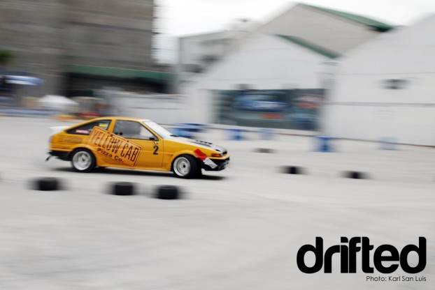 Team Yellowcab AE86 Corolla
