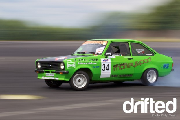 Declan's Ford Escort at Donny