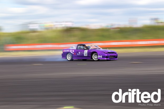 Ashley's S13 at Donny