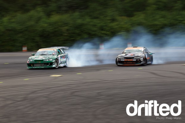 Matt Carter Vs the Driftworks S15 at Donny