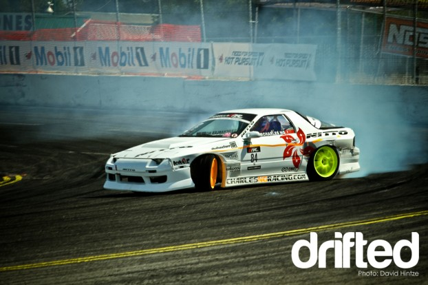 formula drift evergreen speedway throwdown tanner foust ken gushi drifting nissan dodge scion