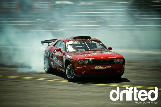 formula drift evergreen speedway throwdown tanner foust ken gushi drifting nissan dodge scion