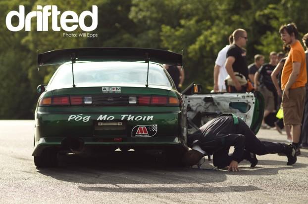 Matt Carter Borrowed S14 200sx Nissan