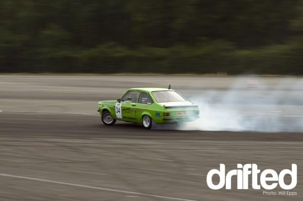 Declan Munnely Drifting MK2 Escort 2.0XE Vauxhall Engine