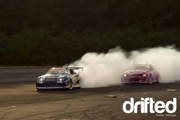 Mark Luney Simon Perry BDC Round 4 Donnington Launch Pad Drift Drifting