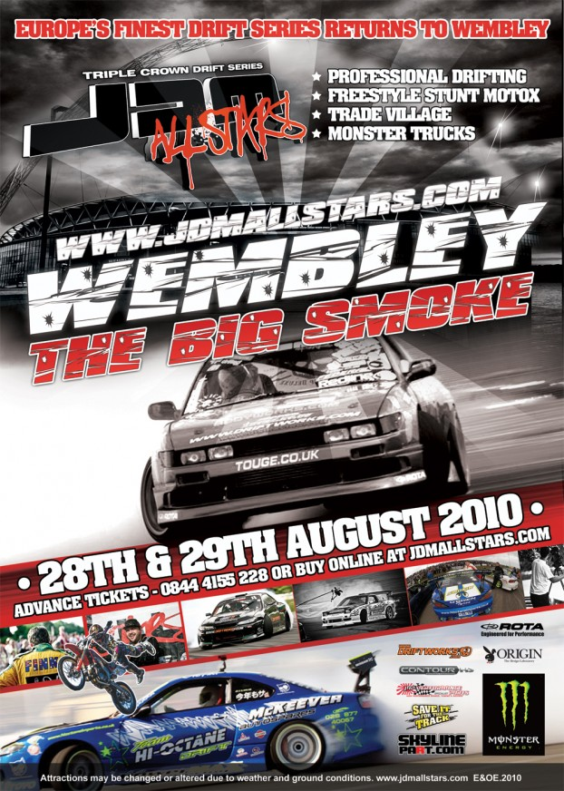 JDM Allstars Wembley 2010 Tickets Competition