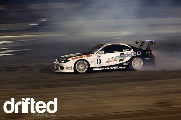Team Japspeed's Paul Smith at BDC Weekender