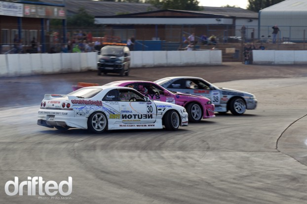 Triple drifting from BDC Weekender at Norfolk Arena