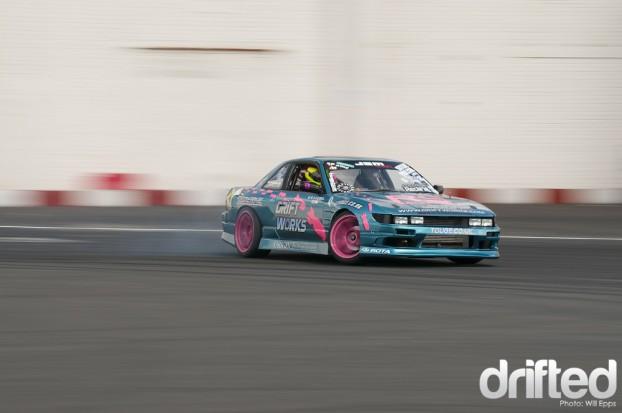 Dan Chapman Drifting PS13 SR20DET Driftworks