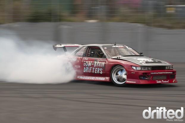 Luke Fink Drifting S body Nissan